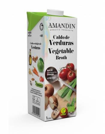 Caldo verduras AMANDÍN