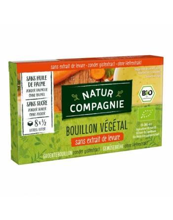 Caldo vegetal sin levadura y sin azúcar Natur Comp