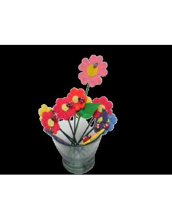 Adornamacetas mini flores (PE) AD