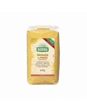 Sémola maiz Biográ