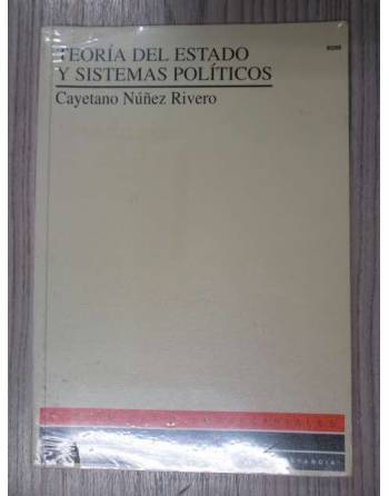 TEORIA DEL ESTADO Y SISTEMAS POLÍTICOS.