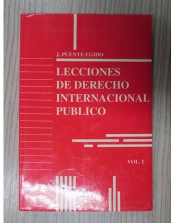 LECCIONES DE DERECHO INTERNACIONAL PUBLICO. VOL.1