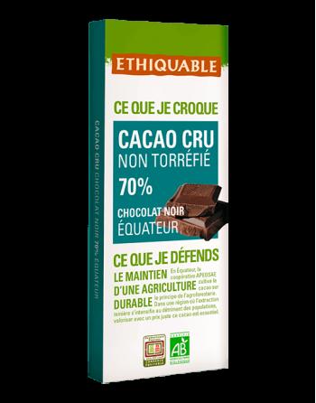 Chocolate Ethiquable raw 70%