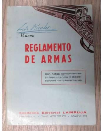 REGLAMENTOS DE ARMAS