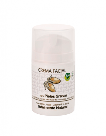 Crema facial piel grasa EQ