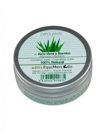 Exfoliante facial AV/Bambú EQ