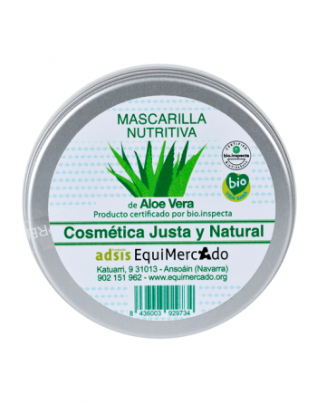 Mascarilla Nutritiva Aloe Vera Equimercado