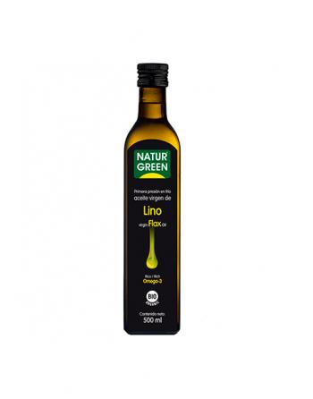 Aceite de lino 500 ml. NaturGreen