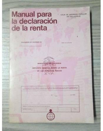 MANUAL PARA LA DECLARACION DE LA RENTA