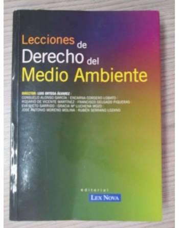 LECCIONES DE DERECHO DEL MEDIO AMBIENTE