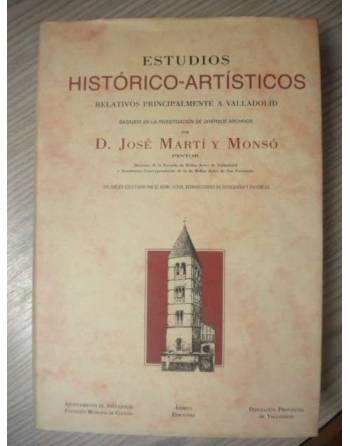 ESTUDIOS HISTÓRICO-ARTÍSTICOS RELATIVOS PRINCIPALMENTE A VALLADOLID.
