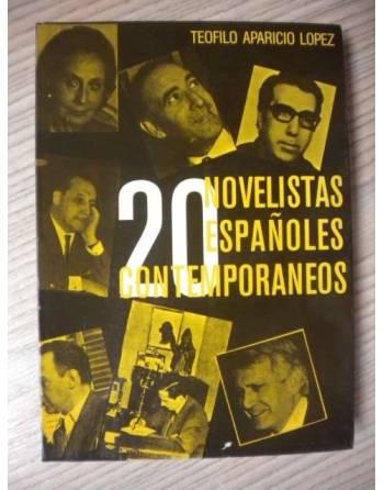 20 NOVELISTAS ESPAÑOLES CONTEMPORANEOS