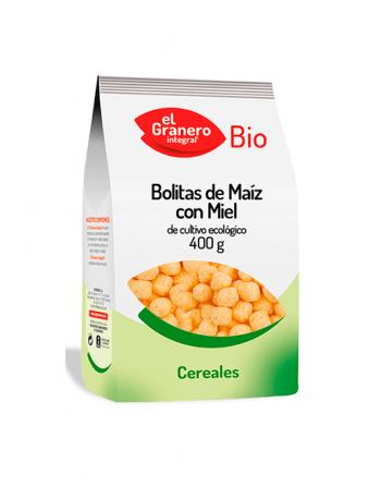 Bolitas de maíz con miel El Granero Integral