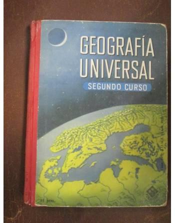 GEOGRAFÍA UNIVERSAL SEGUNDO CURSO