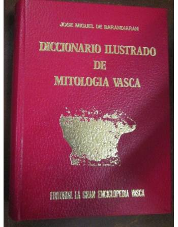 DICCIONARIO ILUSTRADO DE MITOLOGÍA VASCA