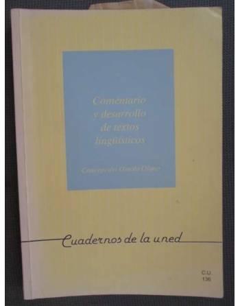COMENTARIO Y DESARROLLO DE TEXTOS LINGÜÍSTICOS