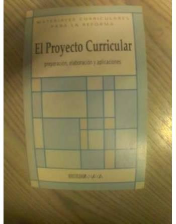 EL PROYECTO CURRICULAR