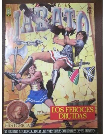 LOS FEROCES DRUIDAS. Colección Super Aventuras. El Jabato. Nº 16.