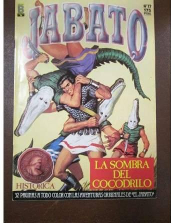LA SOMBRA DEL COCODRILO. Colección Super Aventuras. El Jabato. Nº 17.