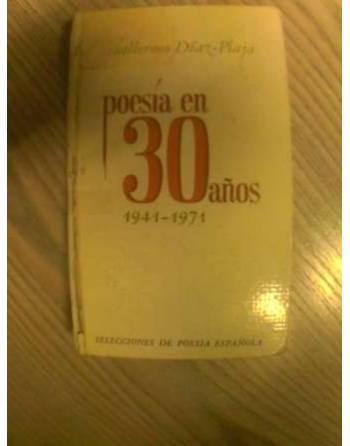 POESÍA EN 30 AÑOS. 1941-1971