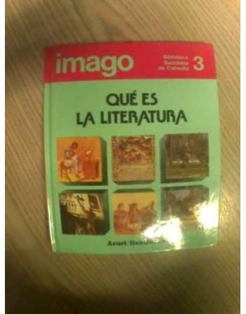 BIBLIOTECA SANTILLANA DE CONSULTA: QUÉ ES LA LITERATURA