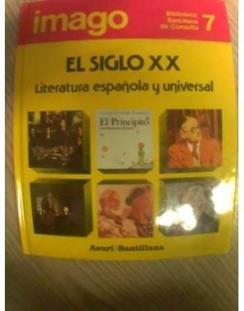 BIBLIOTECA SANTILLANA DE CONSULTA: EL SIGLO XX: LITERATURA ESPAÑOLA...