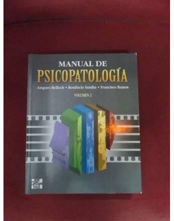 MANUAL DE PSICOPATOLOGÍA, VOL. II